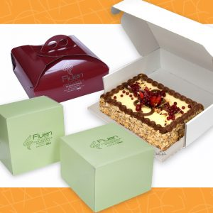 Scatole per torte e packaging per pasticceria